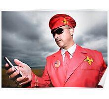 Captain Scarlet AKA Miles HI Club Poster