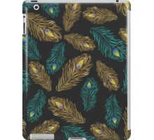 Elegant trendy peacock feathers pattern iPad Case/Skin