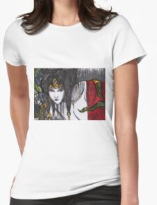 Study Womens Fitted T-Shirt