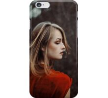 autumn dress iPhone Case/Skin