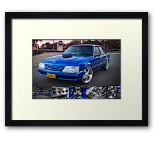 Craig Darcey's Holden VK Commodore Framed Print