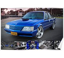 Craig Darcey's Holden VK Commodore Poster