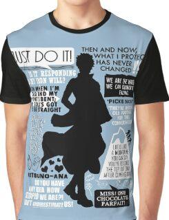 Gintama - Sakata Gintoki Quotes Graphic T-Shirt