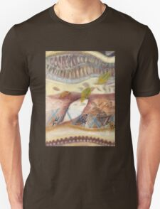 Tropical Fusions (Panel 1 of 4) Unisex T-Shirt
