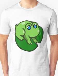Round Lillypad Frog T-Shirt