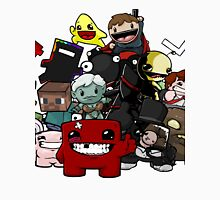 All Character Steam Super Meat boy edition Unisex T-Shirt