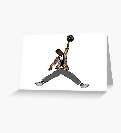 Prince Ball'n Greeting Card