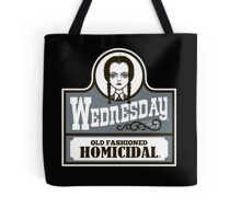Old Fashioned Homicidal Tote Bag