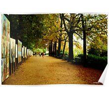 Parc du Thabor, Rennes Poster