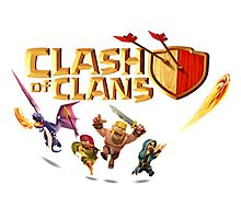 clash of clans caracter Photographic Print