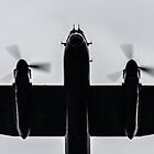 Lancaster Bomber Flyover by William Rottenburg