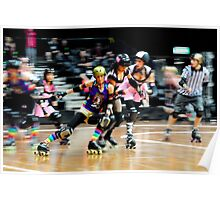 Ouch..!! | Sydney Roller Derby | 2012 Poster