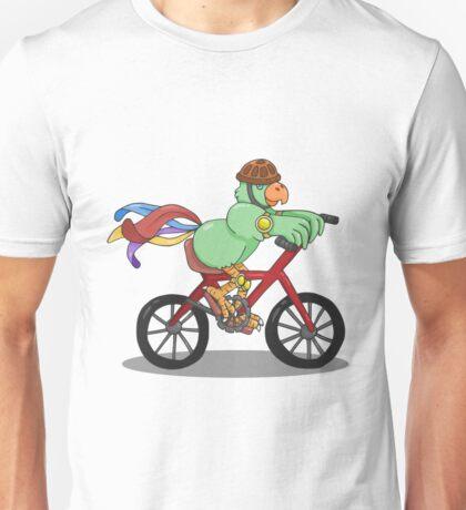 Bird on A Bike Unisex T-Shirt