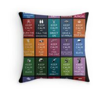 Keep Calm And Watch Supernatural Throw Pillow
