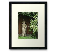 At the bottom of my Garden Framed Print