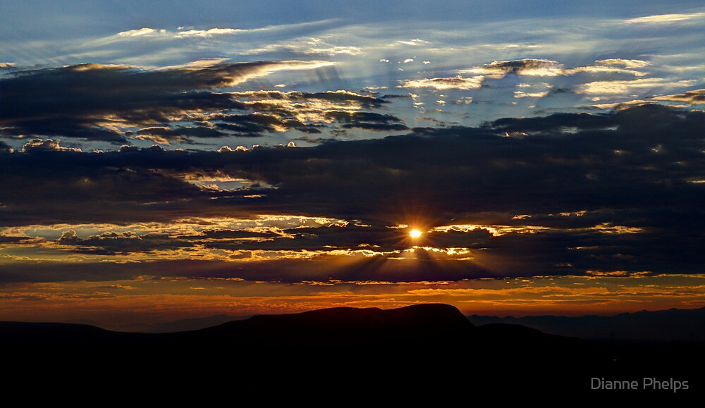 Fernley Sunrise by Dianne Phelps
