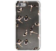 ballet from above iPhone Case/Skin