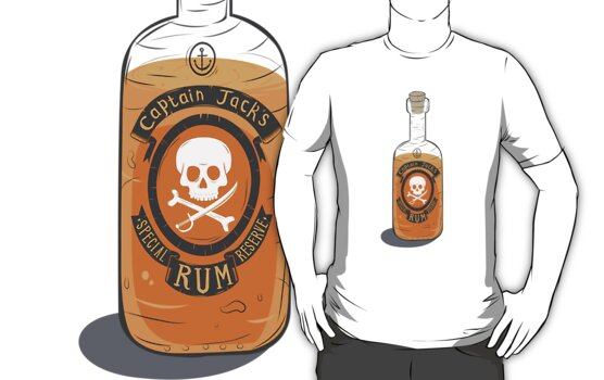 Captain Jack's special rum reserve by LordWharts