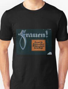 Frauen! Sorget für Frieden und Brot! Wählet und werbt für die Wahl! 1379 T-Shirt