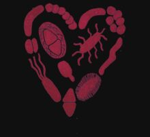 Heart of Bacteria One Piece - Long Sleeve