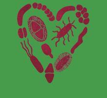 Heart of Bacteria Kids Tee