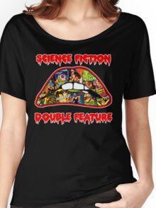 Science Fiction / Double Feature (LIPS! LIPS!! LIPS!!!) Women's Relaxed Fit T-Shirt