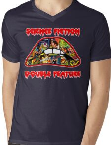 Science Fiction / Double Feature (LIPS! LIPS!! LIPS!!!) Mens V-Neck T-Shirt