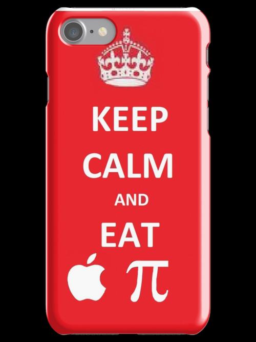 Eat Apple Pi by ElizaBee