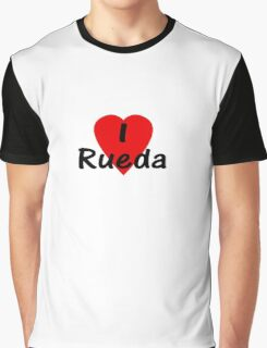 I Love Rueda - Dance T-Shirt Graphic T-Shirt