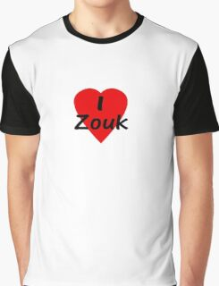 I Love Zouk - Dance T-shirt Graphic T-Shirt