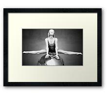 belle' Framed Print