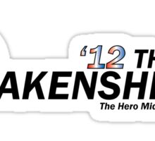 Oakenshield for Prez Sticker