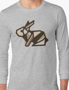 Paper Anigami Bunny Long Sleeve T-Shirt