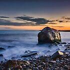 Sunset at Point Judith by John Davenport