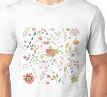 Flower pattern 01 Unisex T-Shirt