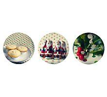 Christmas trio Photographic Print