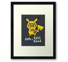 Ash vs Evil Dead ( Not Ash Williams)  Framed Print