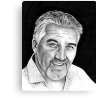 Paul Hollywood Canvas Print