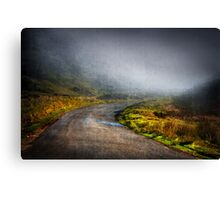 Mystery Road Canvas Print