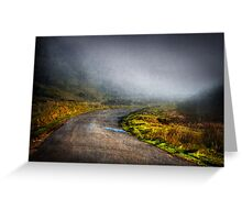 Mystery Road Greeting Card