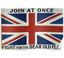Join at once Fight for the dear old flag 371 Poster
