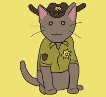 Rick Grimes Kitty by BegitaLarcos