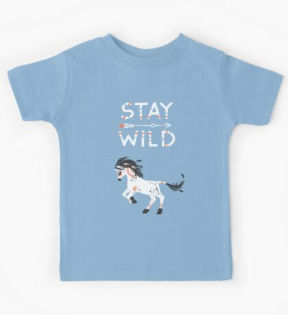 Stay Wild Kids Tee