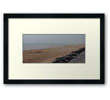 Omaha Beach Framed Print