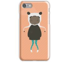 Gracie in Orange iPhone Case/Skin