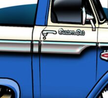 Slick 60's - Blue Sticker