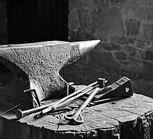 At the blacksmith's by Martina Fagan