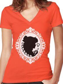 Sailor Venus Cameo Women's Fitted V-Neck T-Shirt