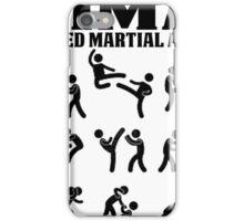 MMA Mixed Martial Arts iPhone Case/Skin
