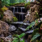 water fall stream by chrisfb1